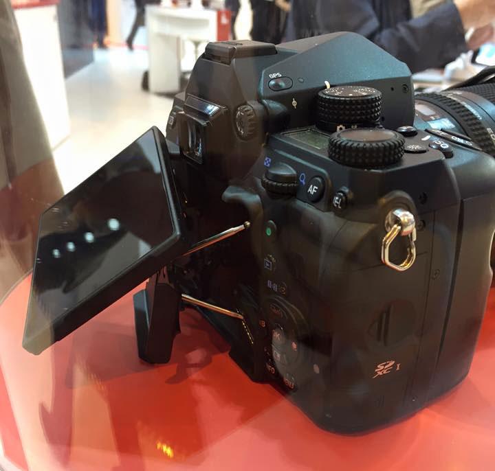Pentax K-1 Pentax full frame DSLR on display | Photo Rumors