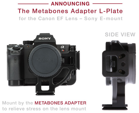 RRS-announced-L-plate-for-Metabones-adapter-Canon-EF-Lens-to-Sony-E-mount