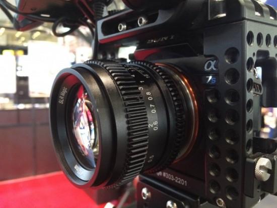 SLR Magic 50mm f:1.1 full frame lens for Sony FE-mount