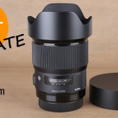 Sigma 20mm f:1.4 DG HSM Art lens sample photos