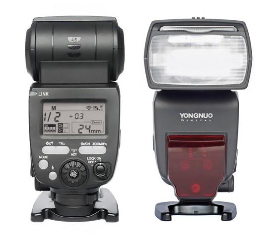 Yongnuo YN660 flash with built-in radio