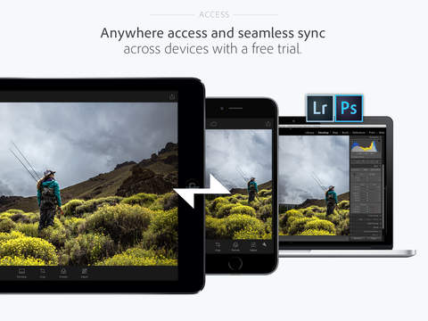 Adobe Lightroom 2.1 for iOS