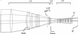 Canon EF-M 600mm f:5.6 DO IS lens patent