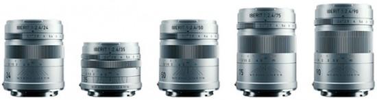 HandeVision IBERIT 24mm 35mm 50mm 75mm 90mm f:2.4 lenses