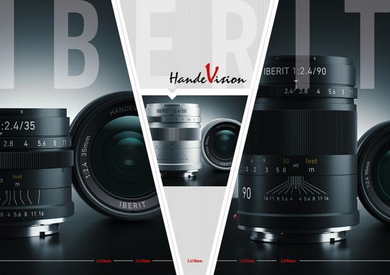HandeVision IBERIT mirrorless lenses