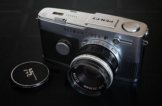 Olympus_Pen_F_camera