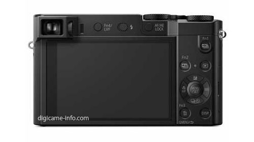 Panasonic TZ100 compact camera with 1 inch sensor 2