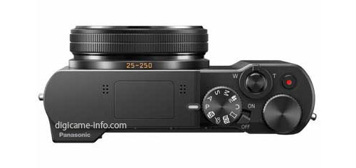 Panasonic TZ100 compact camera with 1 inch sensor 3