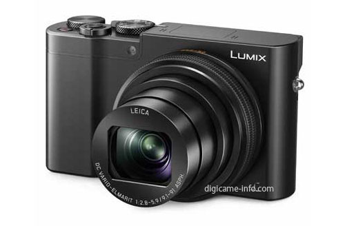 Panasonic TZ100 compact camera with 1 inch sensor