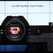 the EVF inside the new Leica SL Typ 601 mirrorless camera is made by Epson