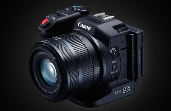 Canon XC10 camera