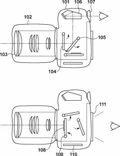 Canon sensor shift patent
