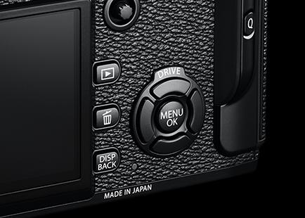 Fuji X-Pro2 buttons