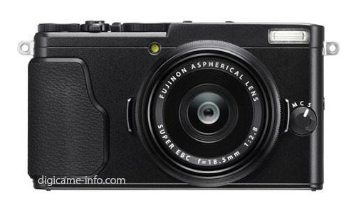 Fuji X70 camera black