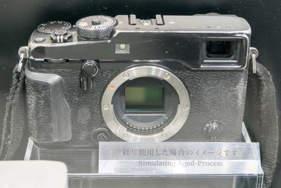 Fujifilm X-Pro2 camera simulation aged