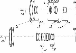 Konica Minolta 45-250mm f:4.5-5.6 OIS lens patent