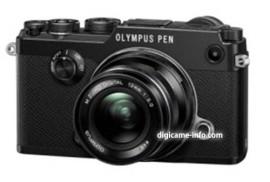 Olympus PEN-F camera black