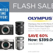 Olympus-flash-sale
