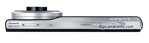 Panasonic DMC-CM10 top
