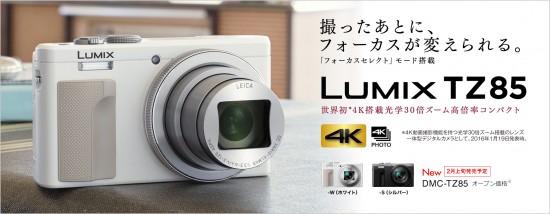 Panasonic DMC-TZ85 camera