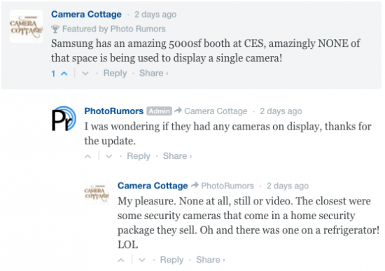 Samsung camera rumors 2