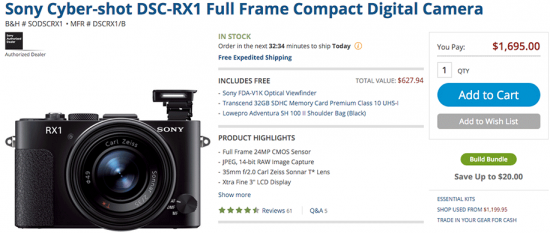 Sony-RX-camera-sale