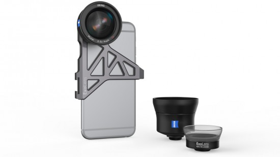 Zeiss lenses for mobile phone
