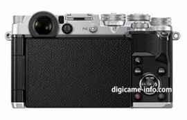 silver Olympus PEN-F camera 4