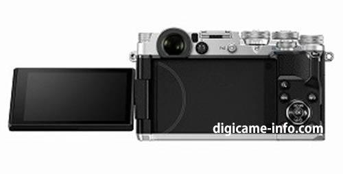 silver Olympus PEN-F camera 5