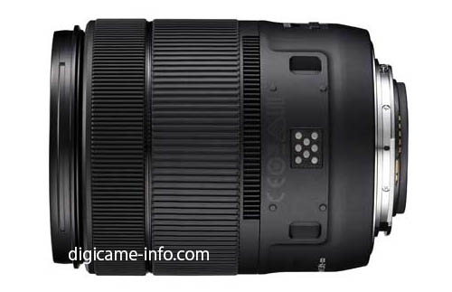 Canon EF-S18-135mm f:3.5-5.6 IS USM lens 2