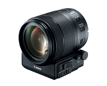 Canon Power Zoom Adapter PZ-E1 with EF-S 18-135mm Nano USM lens