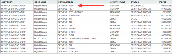 New-Olympus-camera-registered