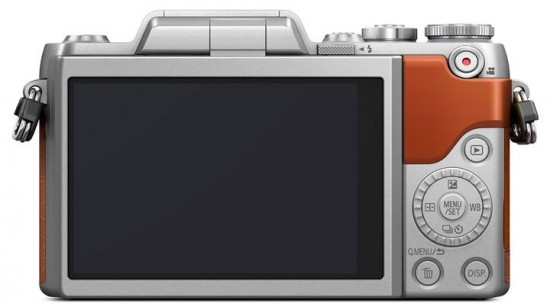 Panasonic GF8 camera back