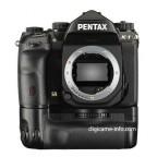 Pentax K-1 full frame DSLR camera battery grip