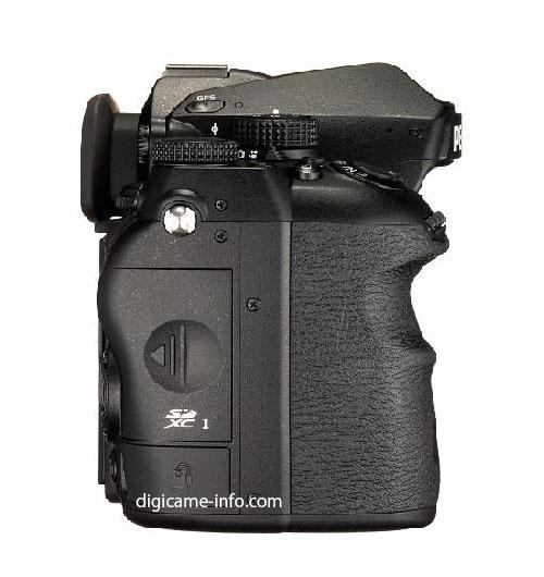 Pentax K-1 full frame DSLR camera
