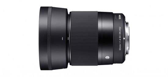 SIGMA 30mm F1.4 DC DN lens