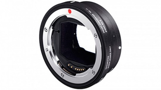 Sigma MC-11 lens adapter Canon EF and Sigma SA to Sony E-mount