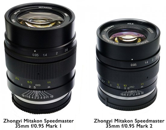 ZY-Optics-released-new-improved-Zhongyi-Mitakon-Speedmaster-35mm-f0.95-Mark-II-mirrorless-lens