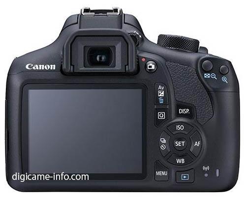 Canon EOS Rebel T6 1300D Kiss X80 DSLR camera 2