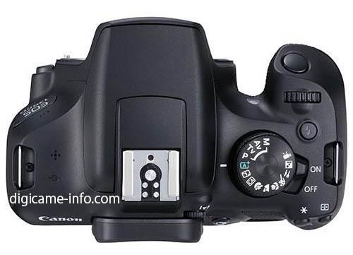 Canon EOS Rebel T6 1300D Kiss X80 DSLR camera 3