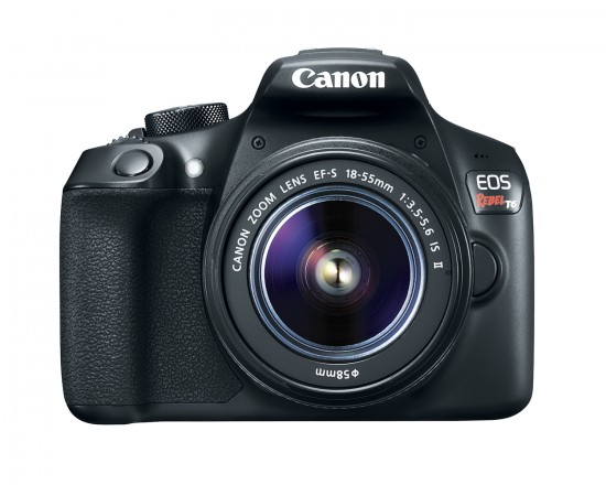 Canon EOS Rebel T6 300D DSLR camera front