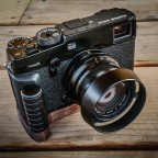 J.B. Camera Designs wood grip for Fuji X-Pro2