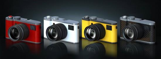 Konost full frame digital rangefinder camera project
