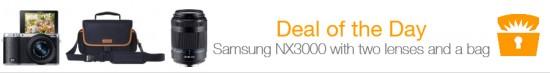 Samsung NX300 sale