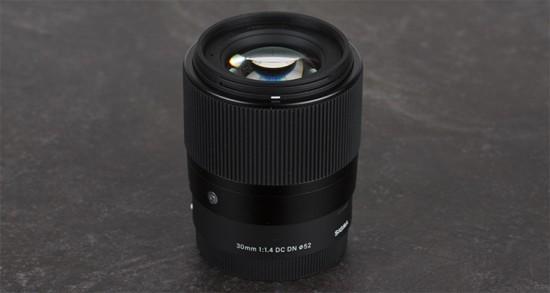 Sigma 30mm f:1.4 DC DN Contemporary lens