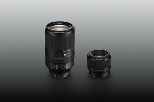 Sony FE 70-300mm f:4.5-5.6 G OSS and 50mm f:1.8 lenses