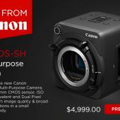 Canon ME200S-SH Multi-Purpose Video & Still Camera