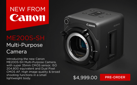 Canon ME200S-SH Multi-Purpose Video & Still Camera