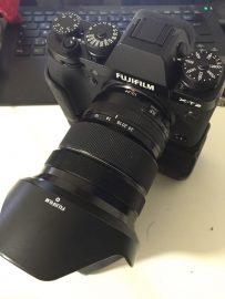 Fuji X-T2 camera leak