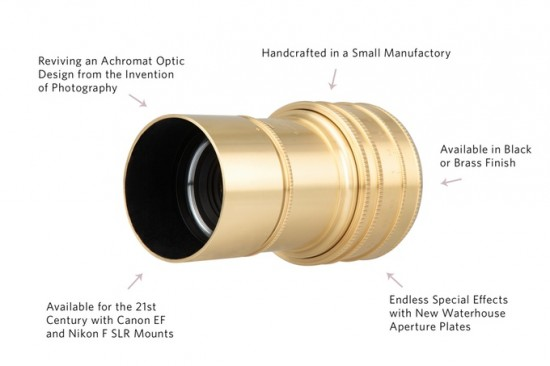 New Lomography Daguerreotype Achromat 2.9:64 Art lens